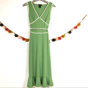 {Express} Vintage Style Midi Dress